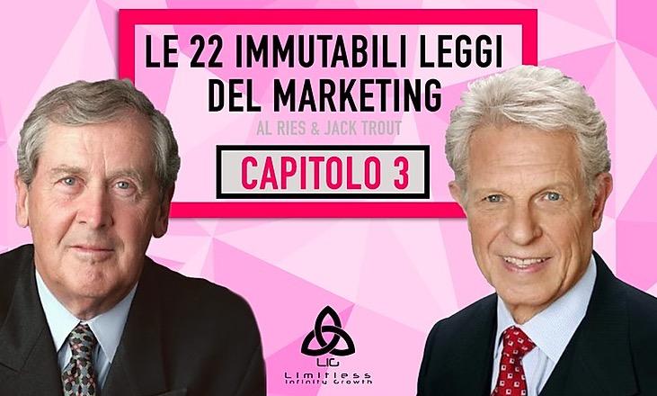 LE 22 LEGGI IMMUTABILI DEL MARKETING – Capitolo 3