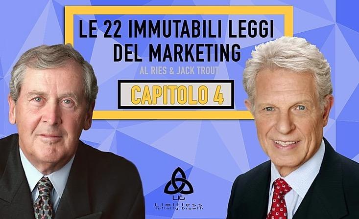 LE 22 LEGGI IMMUTABILI DEL MARKETING – Capitolo 4