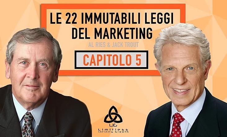 LE 22 LEGGI IMMUTABILI DEL MARKETING –  Capitolo 5